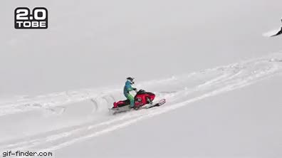 Watch and share Snowmobile Flip GIFs on Gfycat
