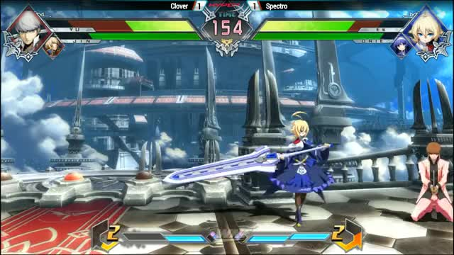 Watch and share Blazblue GIFs and Bbtag GIFs by BirdsTheRevenge on Gfycat