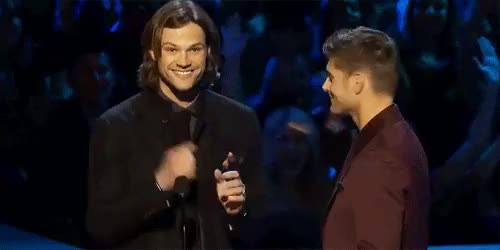 Watch Characters: Reader x Jensen and JaredWords: 508Request from  GIF on Gfycat. Discover more Jensen Ackles, jared padalecki, supernatural, supernatural imagine, supernatural one shot, supernatural oneshot GIFs on Gfycat