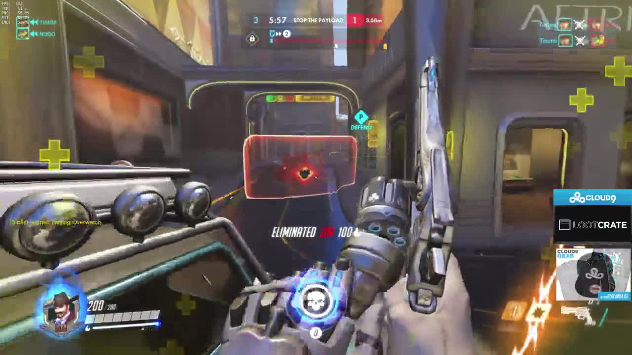 overwatch, Teabagging a Cloud9 Player GIFs