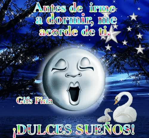 Watch Antes de irme a dormir, me acorde de ti. ¡DULCES SUEÑOS! GIF on Gfycat. Discover more related GIFs on Gfycat