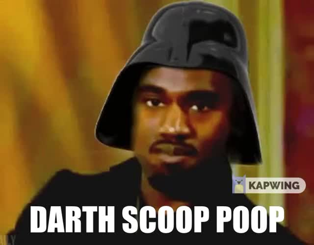 Watch and share Darthvader GIFs and Kanye West GIFs by darthscooppoop on Gfycat