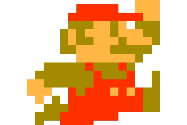 Watch and share Retro Mario In Flavor By Cezkid animated stickers on Gfycat