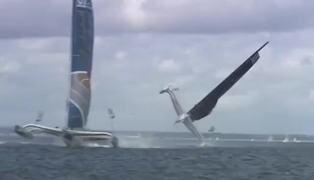 Watch mod 70 capsize GIF on Gfycat. Discover more sailing GIFs on Gfycat