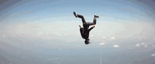 skydive, skydiving, Skydiving ANIMATED GIF - SpeakGif GIFs