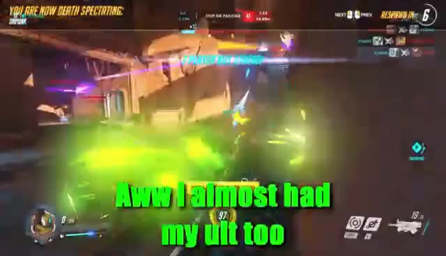 Watch and share Overwatch - Rank Doesn't Matter GIFs on Gfycat