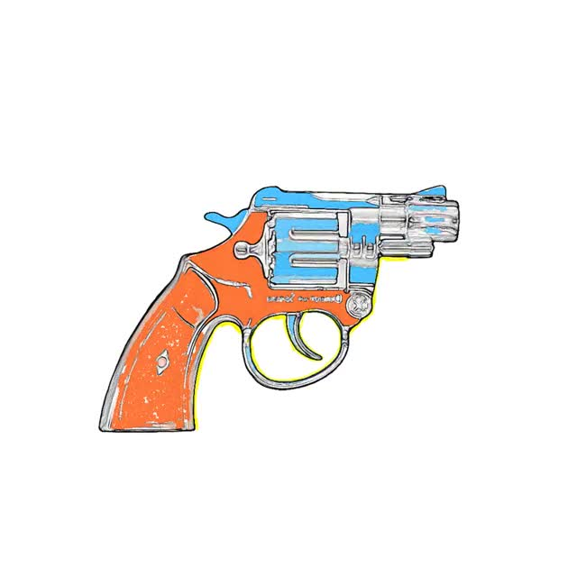 Watch and share Gun animated stickers on Gfycat