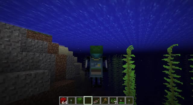 Watch and share Minecraft GIFs and Swimming GIFs by Onnowhere on Gfycat