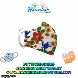 Watch and share Hawaiian Face Mask GIFs and 4 Layer Face Mask GIFs by Hawaiian Shirt Outlet on Gfycat