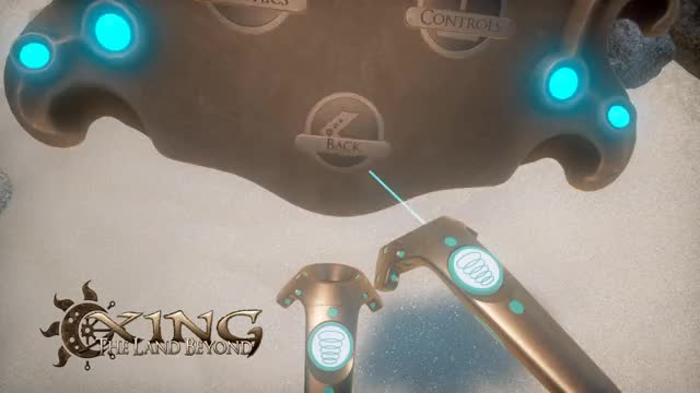 Watch and share XING: The Land Beyond - HTC Vive - Menu GIFs on Gfycat