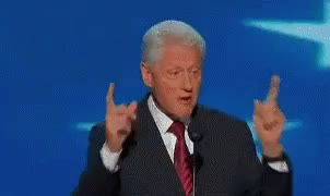 Watch and share Bill Clinton GIFs and Fingerguns GIFs by Reactions on Gfycat