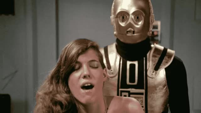 Watch Yeah, C3PO fucks. Starship Eros. smaller version GIF by Beyond the Beaded Curtain (@dirtyvhs) on Gfycat. Discover more dirtyvhs, sci-fi porn, starship eros, vintage porn GIFs on Gfycat