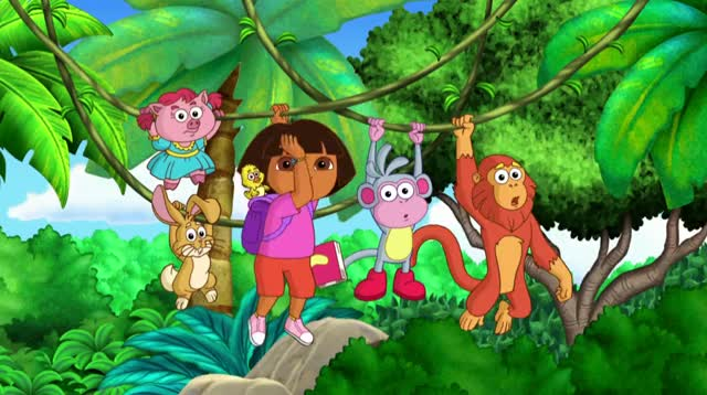 Watch and share Dora And Friends Swinging 7 GIFs by serenity123 on Gfycat