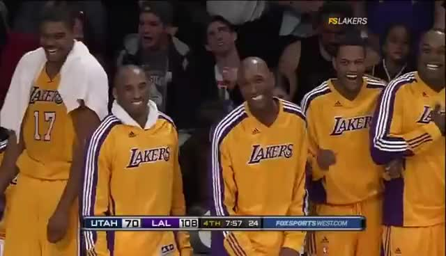 lakers, Lakers laughing GIFs
