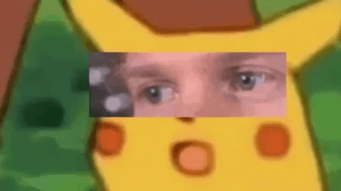 blinking, blinking white guy, everton rodrigues, guy, meme, pikachu meme, white, Pikachu blinking white guy meme GIFs