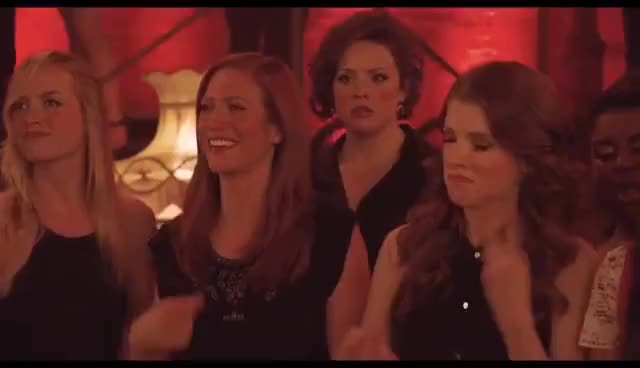 Pitch Perfect 1 & 2 - Bloopers/Gag Reel GIF | Find, Make