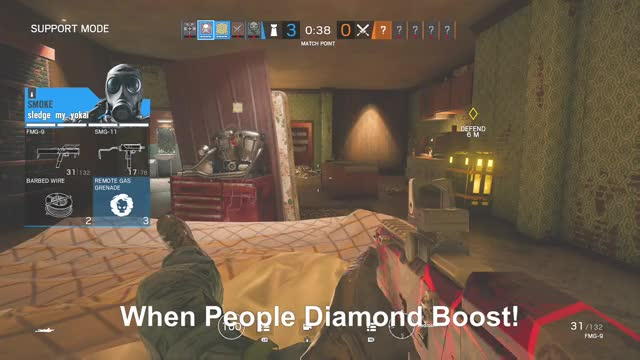 Watch When People Diamond Boost! GIF by Gamer DVR (@xboxdvr) on Gfycat. Discover more TomClancysRainbowSixSiege, Vultran, xbox, xbox dvr, xbox one GIFs on Gfycat