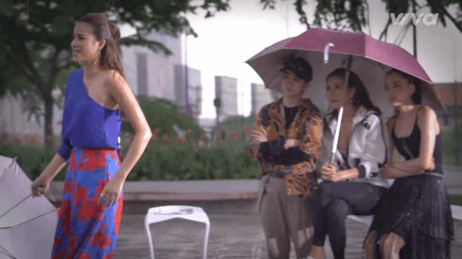 Tập 2 The Look: Dung Doll suýt ngất xỉu, Minh Tú  Kỳ Duyên tiếp tục tranh cãi chuyện thời tiết