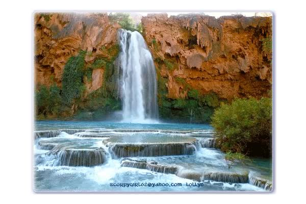 Watch and share Waterfalls animated stickers on Gfycat