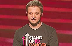 Watch Primadonna BOY GIF on Gfycat. Discover more JEREMYGIF, Jeremy Renner, MahStuff, Stand Up to Cancer, those feelings, we don't want more this GIFs on Gfycat