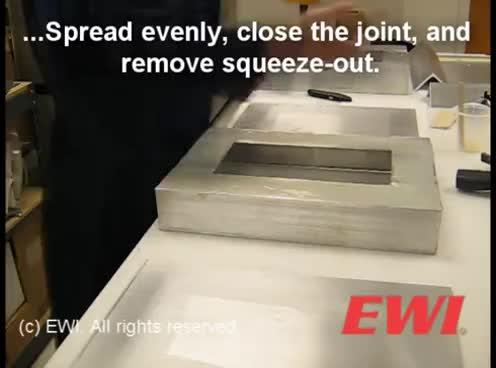 Adhesive Bonding Processing GIFs