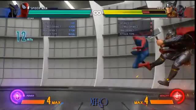 MvCi Spider-Man Day One Combos GIF | Find, Make & Share