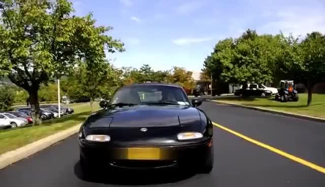 Watch and share Regular Car Reviews: 1995 Mazda Miata MX-5 GIFs on Gfycat