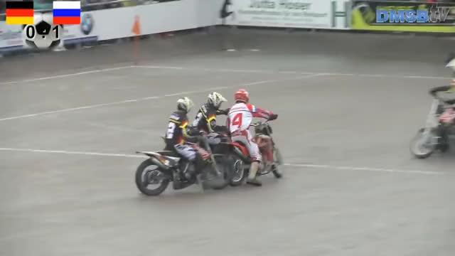 Watch MOTOBALL | Europameisterschaft | Finale | Kuppenheim GIF on Gfycat. Discover more motoball, motorradsport GIFs on Gfycat