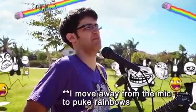 Watch and share Puke Rainbow GIFs on Gfycat