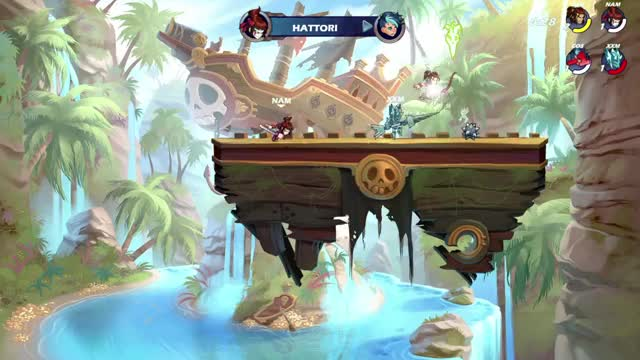 Watch and share Brawlhalla GIFs and Ps4share GIFs by randomguy1732 on Gfycat