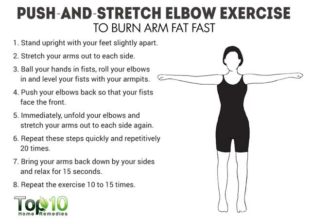 push and stretch elbow exer