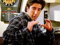 Watch and share Ross, Geller, Friends, Be, Quiet GIFs on Gfycat