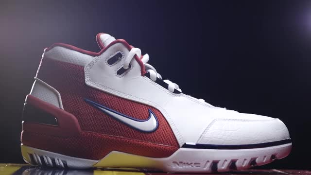 finest selection 1e322 c37bb Watch StockX Launches Exclusive  Cavs Championship Court  SPO – Nike Air  Zoom Generation Retro