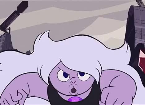 Watch and share Steven Universe GIFs and Amethyst GIFs on Gfycat
