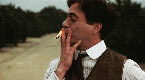 robert downey jr, movie, sherlock, fire, robert downey jr, smoking GIFs