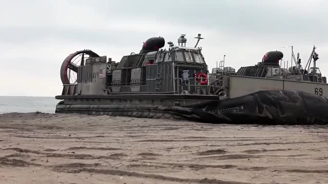 Watch and share US Navy LCAC Hovercraft Inflation GIFs by kingtorm on Gfycat