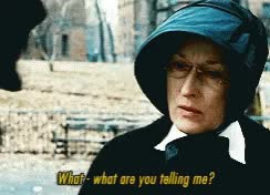 Watch and share Meryl Streep Doubt GIFs on Gfycat