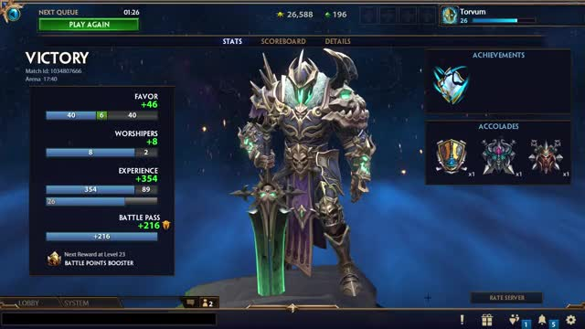 Watch and share Smite (64-bit, DX9) 2020-05-03 22-50-35 GIFs by torvum on Gfycat