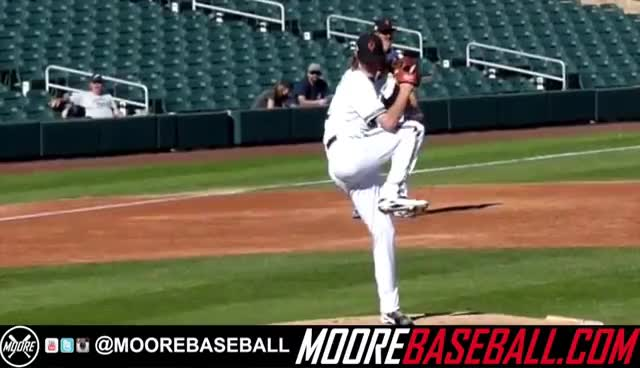 Josh Hader LHP, Milwaukee Brewers, Pitching Mechanics  Nov. 2015 GIFs