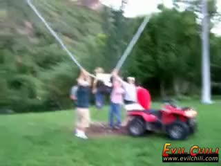Watch and share Horizontal Bungee Jumping GIFs on Gfycat