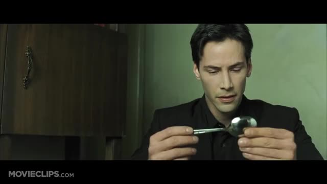 Watch There Is No Spoon - The Matrix (5/9) Movie CLIP (1999) HD GIF by @docjeezy on Gfycat. Discover more action sci-fi fantasy, action thrillers, celebs, denni gordon, keanu reeves, rowan witt, sci-fi thrillers, spoon videos, the matrix, the matrix clip, the matrixs reloaded part 1 GIFs on Gfycat
