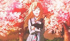 Watch Pew Pew GIF on Gfycat. Discover more Shigatsu wa kimi no uso, arima kousei, blondie hihi, cherry blossom, cherry blossom tree, edits, miyazono kaori, ore no, sakura, scenery, spring GIFs on Gfycat