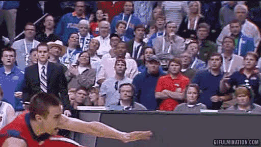 excited ole miss fan - college basketball fan gifs GIFs