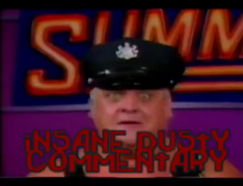 Watch Insane Dusty Commentary GIF on Gfycat. Discover more Botchamania, Dusty Rhodes GIFs on Gfycat