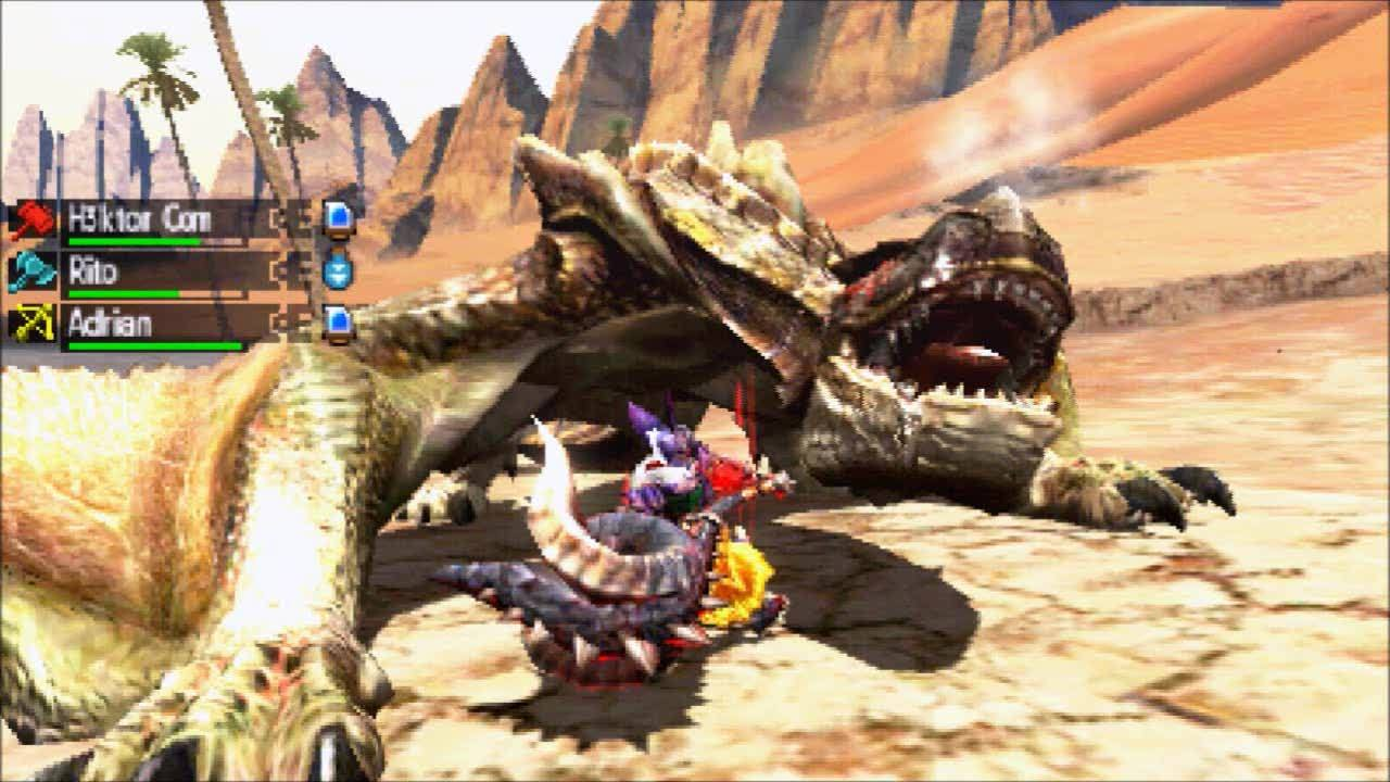 MonsterHunter, monsterhunter, Hunting with friends GIFs