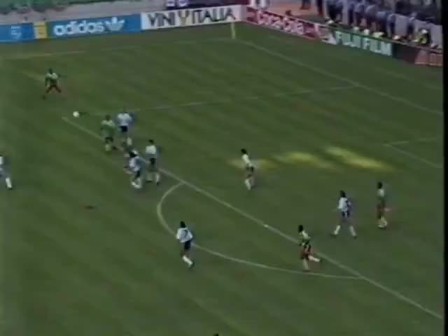 Watch CAMEROON - Massing vs Caniggia, 1990 GIF on Gfycat. Discover more related GIFs on Gfycat