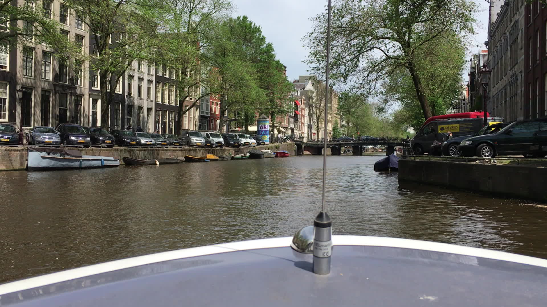 Amsterdam, Amsterdam canals on a boat GIFs