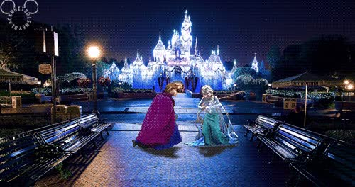 Watch and share Disney Princess Wallpaper Titled Millennium Princess GIFs on Gfycat