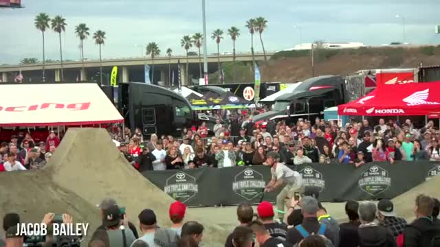 Watch and share Monster Bmx Triples GIFs and Jamie Bestwick GIFs on Gfycat