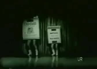Watch Dancing Cigarette Pack Commercial (1950s) GIF on Gfycat. Discover more related GIFs on Gfycat